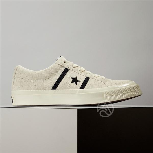 Converse One Star Academy 男女鞋 經典款 麂皮 休閒鞋  米白 163269C