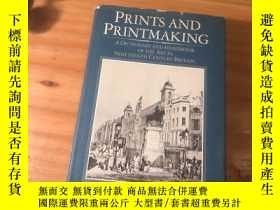 二手書博民逛書店英文原版《Prints罕見and Printmaking,a dictionary and handbook of