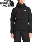 【 The North Face 女 SUMMIT防風防潑水透氣耐磨連帽外套《黑》】3KSP/防風外套/夾克