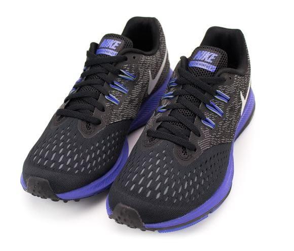 NIKE ZOOM WINFLO 4 女款運動慢跑鞋 黑紫-NO.898485008