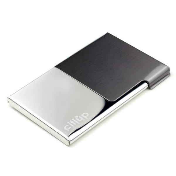 名片夾男式商務名片盒女創意簡約薄金屬不銹鋼展會定制Logo時尚個性女士名片盒 衣櫥秘密