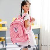 (萬聖節)拉桿書包 拉桿書包6-12周歲女孩 兒童書包小學生女3-5年級後背包三輪拖拉包XW