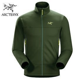 丹大戶外【Arc'teryx】始祖鳥 男抓絨保暖外套 5013316234AA 蟒蛇綠