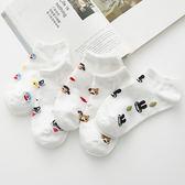 新款 韓版夏季可愛卡通小清新全棉女船襪 短襪 襪子《小師妹》yf628