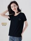 印花短袖女 韓版短袖t恤女2019新款寬松百搭上衣可愛印花學生裝夏季薄款內搭 寶貝計書