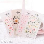 【Suatelier stickers Garden系列】Norns 韓國Sonia文具 手作手帳貼紙 櫻花 植物 園藝 森林系 乾燥花