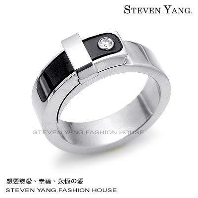 情人對戒 西德鋼飾「允諾」尾戒 皮帶造型戒指*單個價格*類言承旭代言