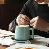 咖啡杯套裝歐式杯子陶瓷杯情侶創意牛奶杯簡約水杯可愛馬克杯家用【快速出貨八折優惠】