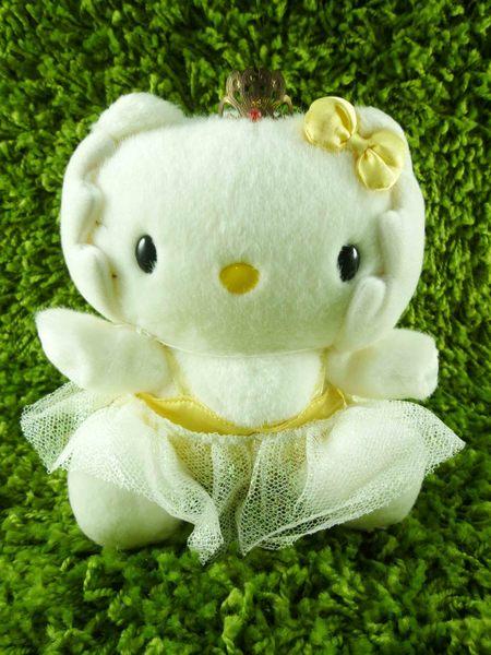 【震撼精品百貨】Hello Kitty 凱蒂貓~KITTY絨毛娃娃-芭蕾圖案-黃色