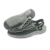 《Diadora》男鞋 編織涼鞋 灰藍色 DA71125