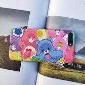 彩虹熊蘋果xsmax撞色手機殼iphone7/8plus浮雕ins保護套6s少女心r