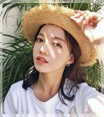 超仙花朵耳釘女氣質韓國個性網紅簡約百搭耳環925純銀小清新耳夾   提拉米蘇