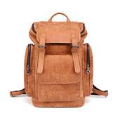 後背包 真皮包包 韓版時尚男包 雙肩包 行李包 旅行包 【t城市風潮】JY 6458