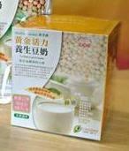 康禾園 黃金活力 養生豆奶 (有糖微甜)30g*15包 一盒 素食者最佳蛋白質來源