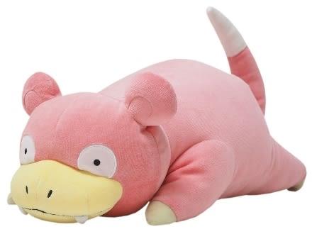 正版 日本 正版 呆呆獸 娃娃 寶可夢 神奇寶貝 pokemon  抱枕 靠墊【小福部屋】