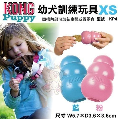 *KING WANG*美國KONG《Puppy 幼犬訓練玩具》XS號(KP4)