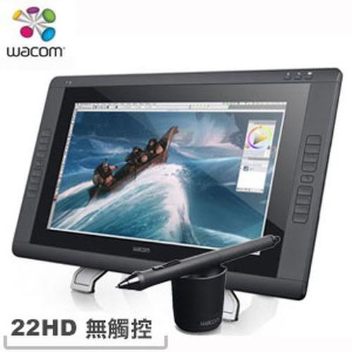 WACOM Cintiq 22HD 專業繪圖液晶螢幕【下殺5000↘送登機箱+Painter】