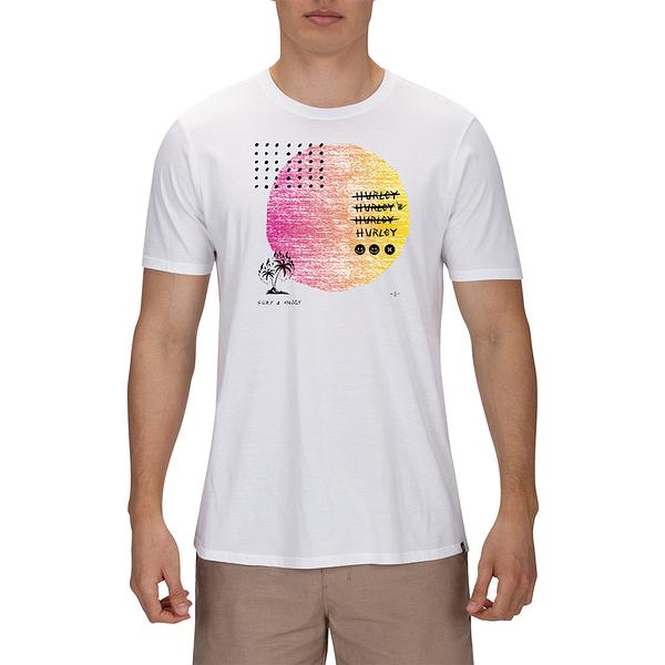 Hurley M PREM STRANGER TIDES TEE SS BLACK T恤