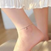 純銀古風鈴鐺腳鍊女韓版民族風簡約飾品