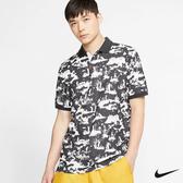 Nike Golf 男子翻領圖騰POLO衫 鐵灰 CI8981-045