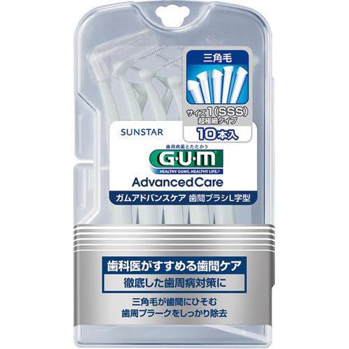 日本全仕康GUM牙周護理L型牙間刷【康是美】