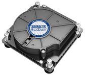 超頻三 C81H大雨 1U 服務器一體機CPU散熱器 渦輪智能風扇 115X【韓衣舍】