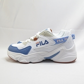 FILA 復古運動鞋 老爹鞋 休閒鞋 女款 5J329V133 白藍【iSport愛運動】