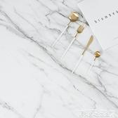 拍照道具攝影背景紙PVC卡拉拉白大理石拍攝背景布INS復古美食拍照背景道具LX 衣間迷你屋