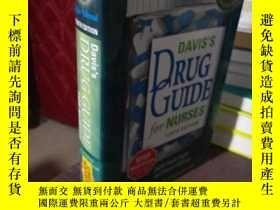 二手書博民逛書店DAVIS S罕見DRUG GUIDE for NURSESY1