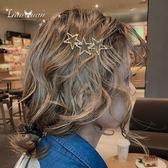 邊夾日系星星劉海夾子少女后腦勺髪卡頭飾