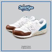 NEW BALANCE 580 復古慢跑鞋 白水藍咖啡 膠底 男 MRT580NM【Speedkobe】