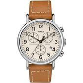 TIMEX天美時 (TXTW2R42700) Weekender 三眼計時 手錶