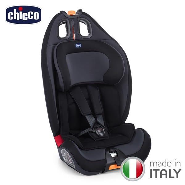 【好禮買就送】chicco-Gro-Up 123成長型安全汽座-絕對黑