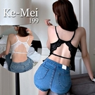 克妹Ke-Mei【AT65346】太犯規啦!爆乳神器美背釦環厚墊無鋼圈內衣