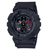 CASIO 手錶專賣店 GA-140BMC-1A G-SHOCK 霓彩防磁雙顯男錶 霧黑 防水200米 GA-140BMC