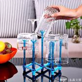便攜家用抹布折疊晾干架收納架掛架 廚房玻璃水杯瀝水杯架置物架