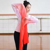 舞蹈服  驚鴻舞甩袖成人藏族舞蹈服古典舞演出服練功水袖舞服裝上衣女