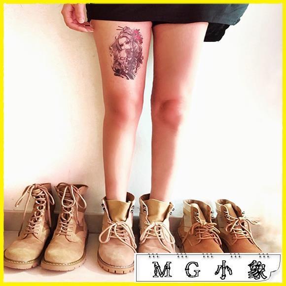 MG 中筒靴-機車馬丁靴夏短靴平底復古韓版百搭靴子