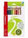 STABILO GREEN 環保系列大三角色鉛筆(12色) *6203/12