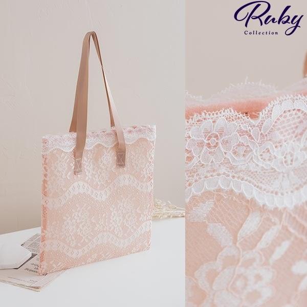 包包 花朵蕾絲手提袋肩背包-Ruby s 露比午茶