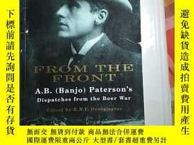 二手書博民逛書店From罕見the Front - A. B. ( Banjo