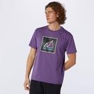 New Balance All Terrain 男裝 短袖 休閒 山形 透氣 排汗 紫【運動世界】AMT11585SG6