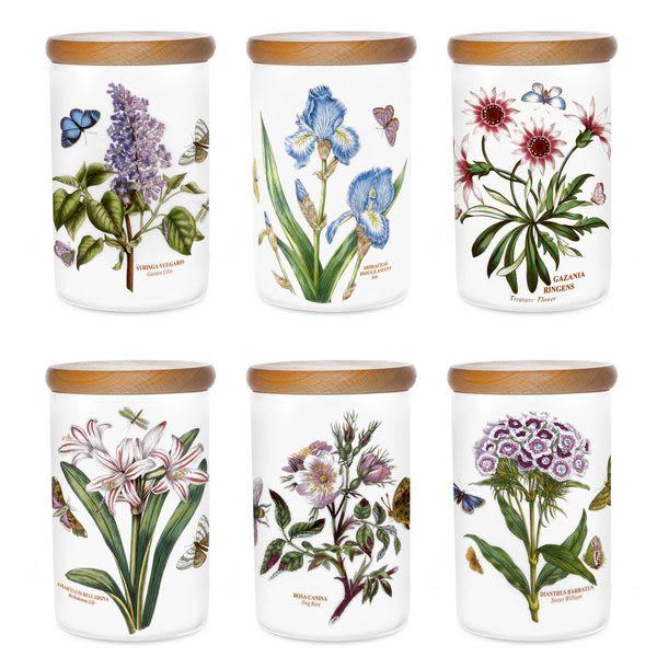英國 Botanic Garden植物園系列 - 密封罐(鳶尾)