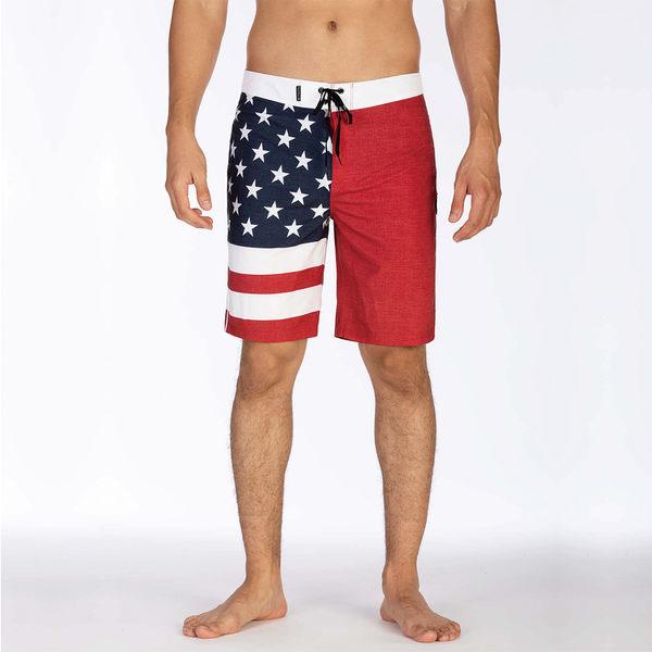 Hurley M HRLY PHANTOM PATRIOT 20 GYM RED 海灘褲-PHANTOM