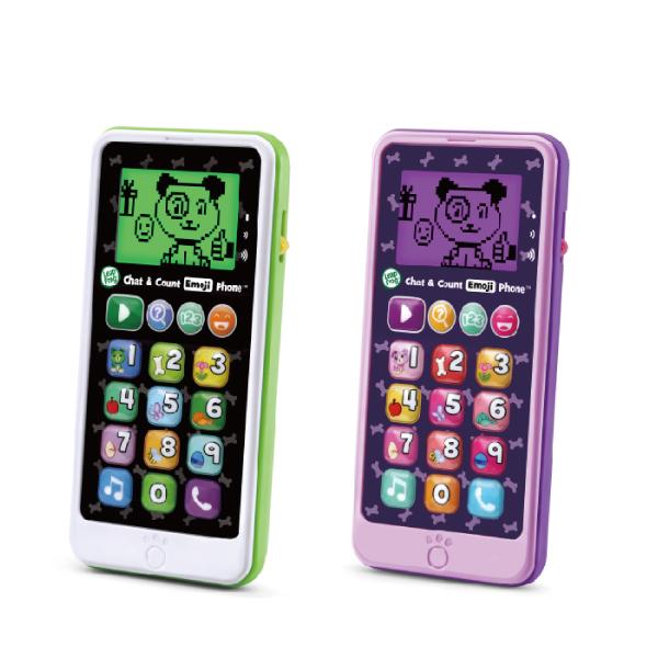 美國 LeapFrog跳跳蛙 炫光智慧小手機(白/紫)