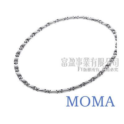 【MOMA】白鋼項鍊-MSJ 53