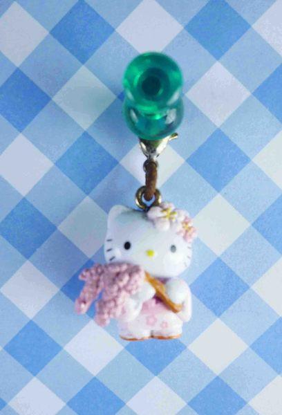 【震撼精品百貨】Hello Kitty 凱蒂貓~KITTY限定版吊飾拉扣-櫻花
