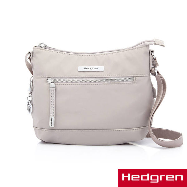 HEDGREN - AURA歐拉系列-側背包-中(淺灰色)