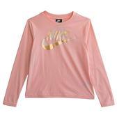 Nike AS W NSW TOP LS METALLIC GX  長袖上衣 939349646 女 健身 透氣 運動 休閒 新款 流行