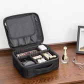 聚可愛 韓國化妝包便攜防震防水收納包大容量旅行洗漱手提化妝包 焦糖布丁